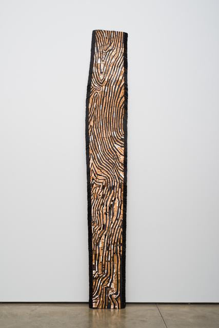 , 'Mosaic Plank,' 2015, Lora Reynolds Gallery
