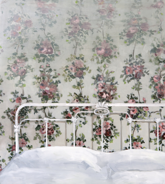 Jenny Brillhart, 'Summer House, Bed and Flowers', 2019, Dowling Walsh