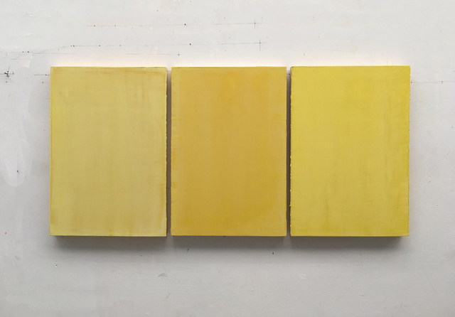 , 'untitled (triptych),' 2014, Galerie Ramakers