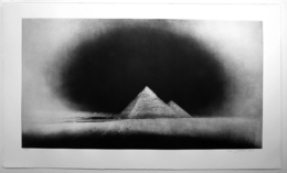 , 'Chephren and Cheops Pyramids, Giza: January 28,' 2010-2011, Carolina Nitsch Contemporary Art