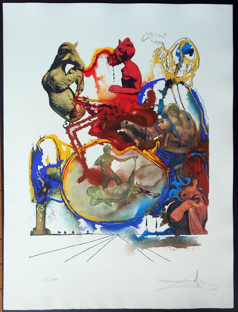 Salvador Dalí, 'Heroic - From The Four Dreams of Paradise Suite', 1973, Hidden