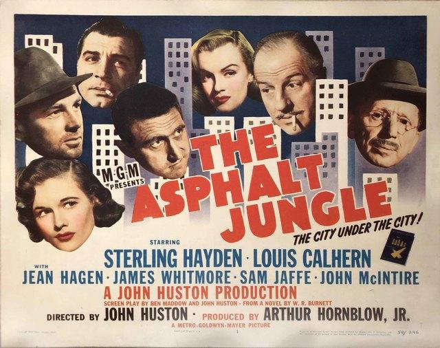 Film Poster | The Asphalt Jungle Lobby Card (1950) | Available for ...