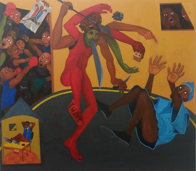 Richard Mudariki, 'Signs of the times', 2017, Barnard