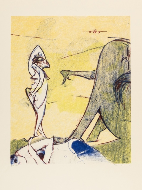 Dorothea Tanning, 'Composition Surrealiste (Hommage à Max Ernst)', 1974, Forum Auctions