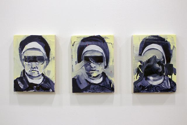 , 'Nuns I, II & III,' 2017, Dab Art