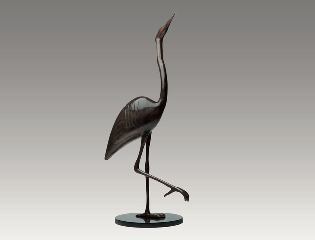 , 'Heron Alert,' , Robert Hooke Sculpture Gallery