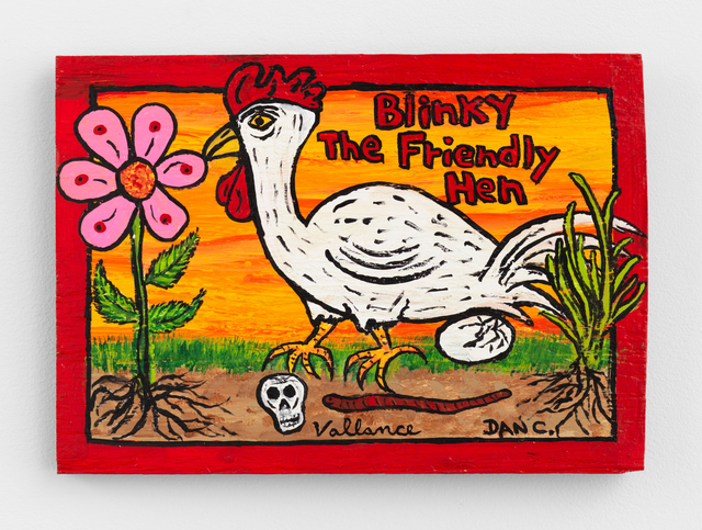 , 'Blinky The Friendly Hen (with Dan Ciesielski),' 2018, Anton Kern Gallery