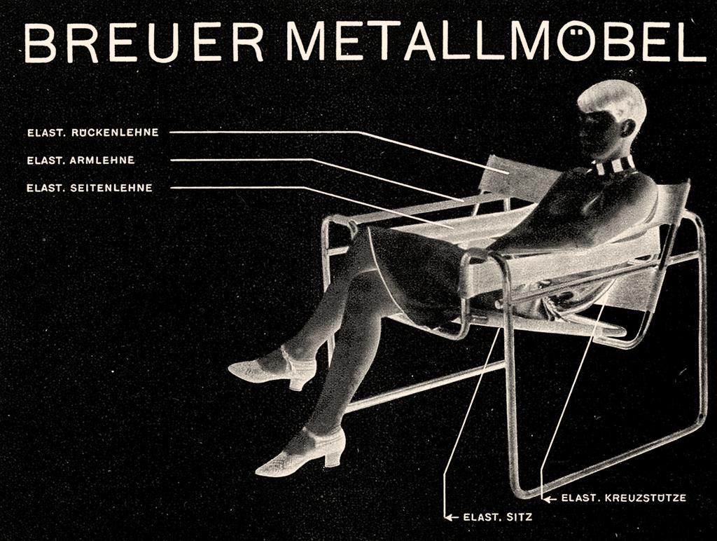 Cover of the Standardmöbel catalogue, 1927, © Vitra Design Museum, (Graphic: Herbert Bayer)