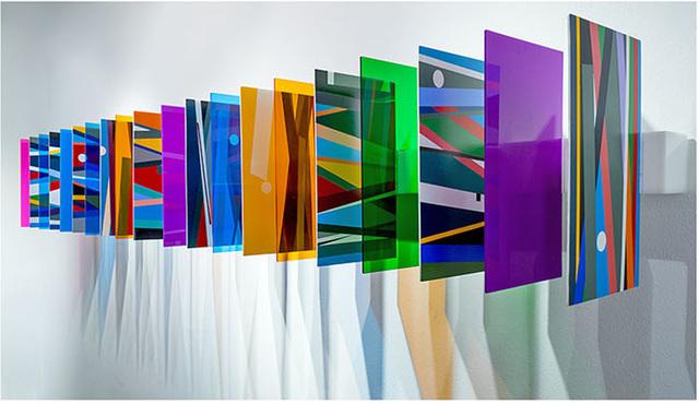 , 'Campos Coloritmicos,' 2016, ArtSpace / Virginia Miller Galleries