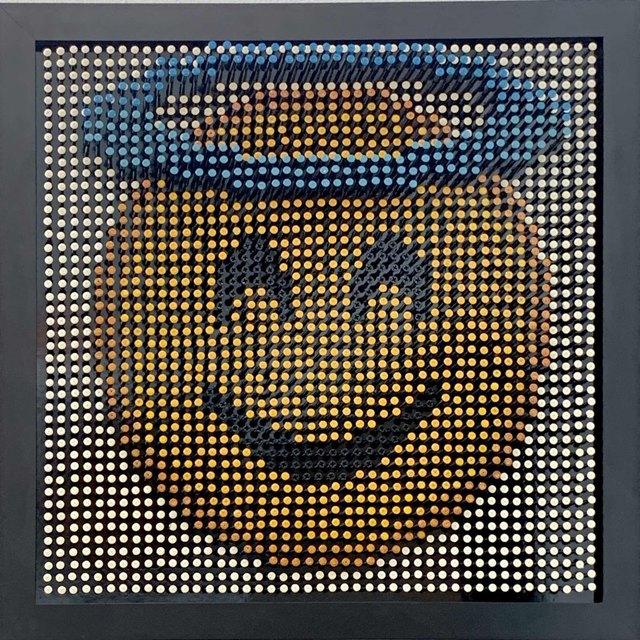 Efraim Mashiah, 'Emoji Screw Series - Smiling Face With Halo', 2018, Elena Bulatova Fine Art
