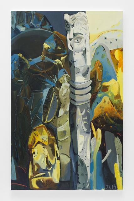 , 'Between Two Spaces,' 2015, Johannes Vogt Gallery