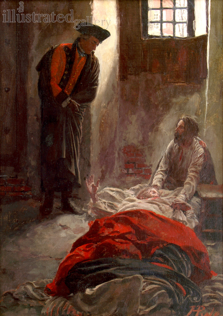 Howard Pyle, 'In The Prison', 1897, The Illustrated Gallery
