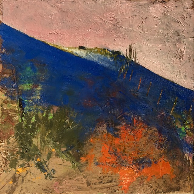 , 'Red Butte Winter Fence,' 2019, Modern West