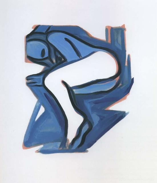 , 'Blue Nude #3,' 2001, Untitled Projects