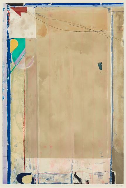 Richard Diebenkorn, 'Touched Red', 1991, Susan Sheehan Gallery