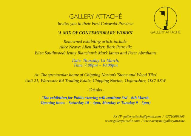 Gallery Attache Formal Invite