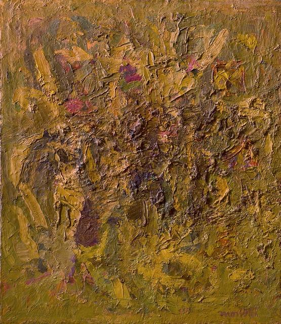 Ennio Morlotti, 'Foglie secche (sterpi)', 1955, Il Ponte