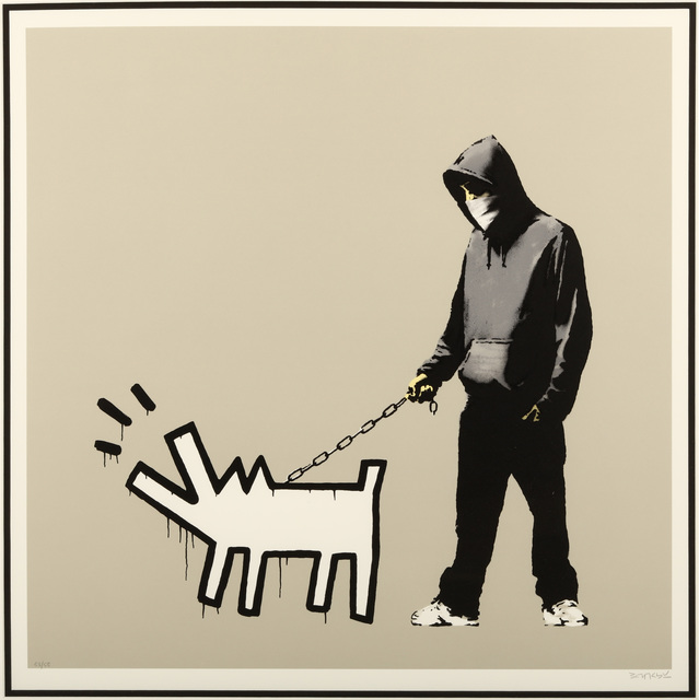Banksy, 'Choose Your Weapon (Warm Queue Jumper Grey)', 2010, Chiswick Auctions