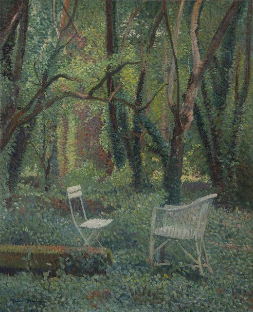 Henri Martin, 'Au coeur du parc de Marquayrol', ca. 1920, HELENE BAILLY GALLERY