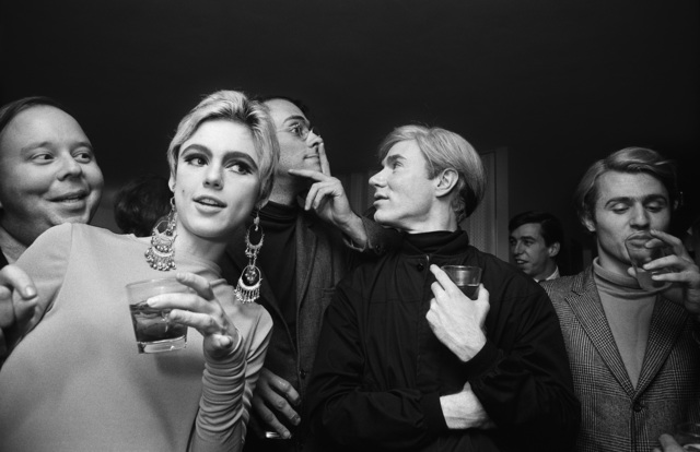 , 'Andy Warhol, Edie Sedgwick and Entourage,' 1965, CAMERA WORK