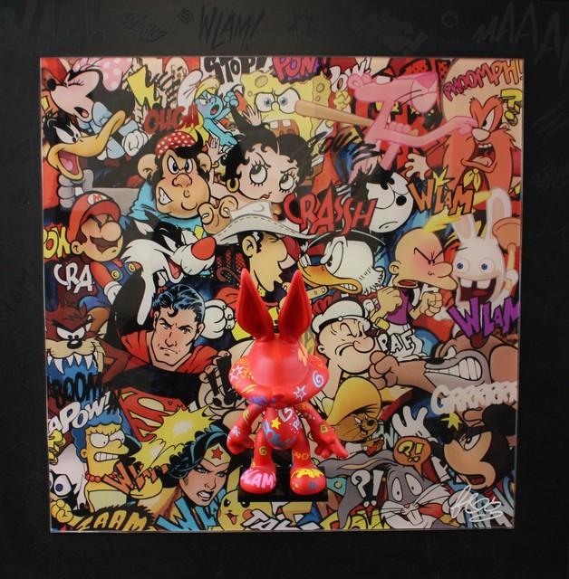 F&G, 'Bugs Red Attitude ', 2017, Art Life Gallery