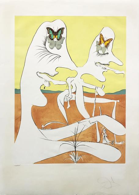 Salvador Dalí, 'BUTTERFLIES OF ANTI-MATTER', 1974, Gallery Art