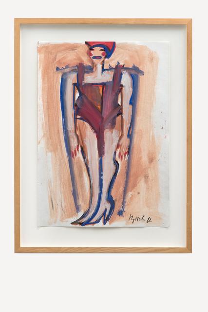 , 'O.T. (Frau mit roter Badekappe),' 1982, Galerie Kornfeld