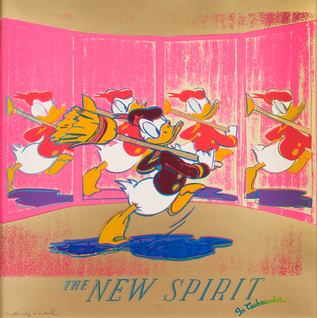 Andy Warhol, 'The New Spirit (Donald Duck) II.357', 1985, OSME Fine Art