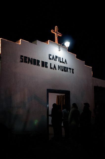 , 'San La muerte Chapel,' 2014, Militantes
