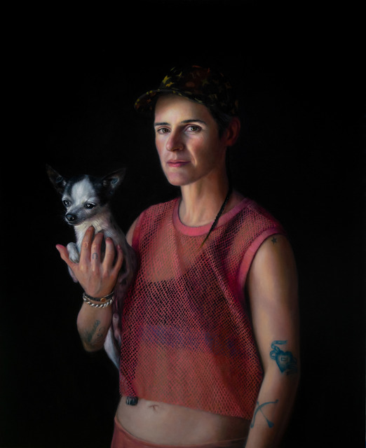 , 'Sophie and Pirate,' 2018, Galerie Thomas Fuchs