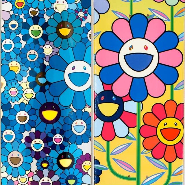 Takashi Murakami, 'Takashi Murakami Flowers Skateboard Decks (Set of 2)', 2017/2019, Lot 180