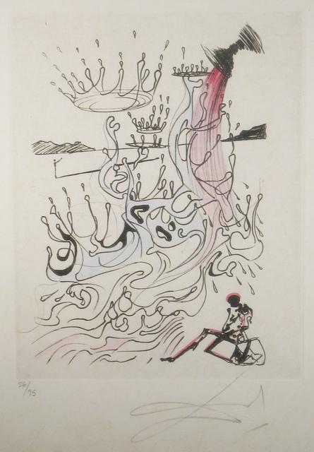 Salvador Dalí, 'River of Plenty', 1967, Print, Etching on  Japon Paper, DTR Modern Galleries