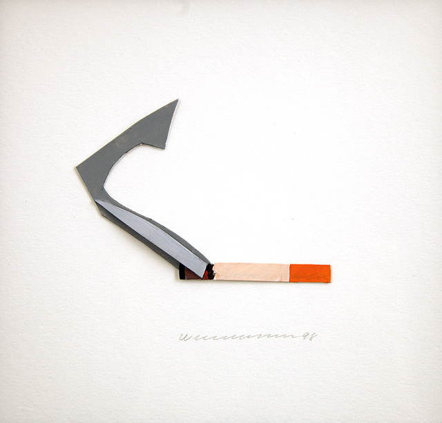 , 'Smoking Cigarette,' 1998, Untitled Projects