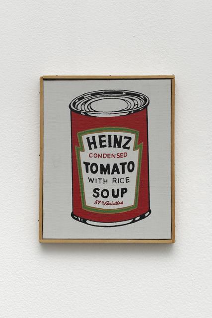 , 'Heinz Tomato Soup,' 1966, Galerie Mitterrand