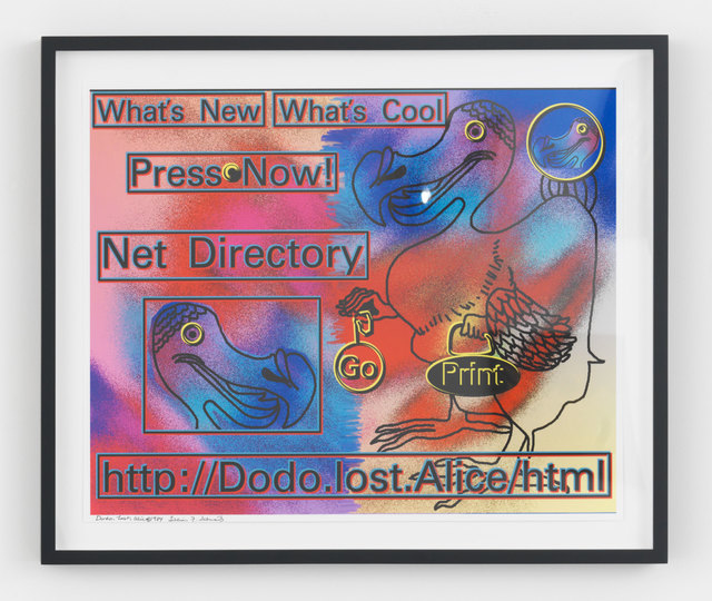 , 'Dodo.Lost.Alice,' 1984, Magenta Plains