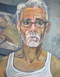 Portrait Sitting with artist Don Barchardy