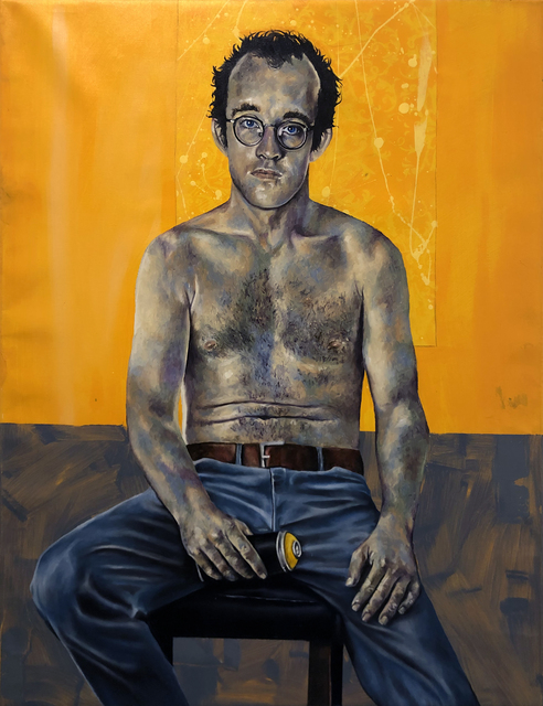Robert Peterson (b.1981), 'Keith and His Yellow Can', 2019, Bruce Lurie Gallery
