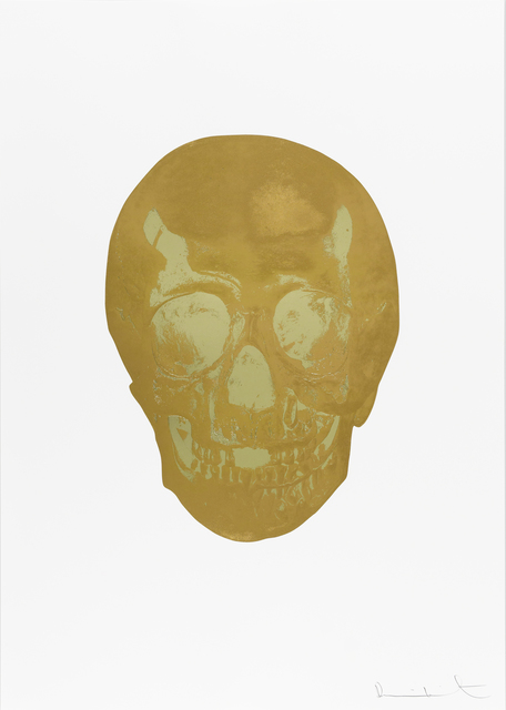 Damien Hirst, 'Death Or Glory Autumn Gold/Cool Gold Glorious Skull ', 2011, Paul Stolper Gallery