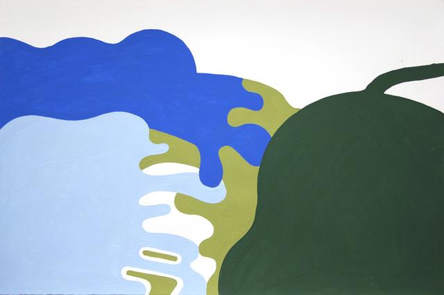 , 'Upstate Landscape Lake Forms,' 2016, Galerie Laroche/Joncas