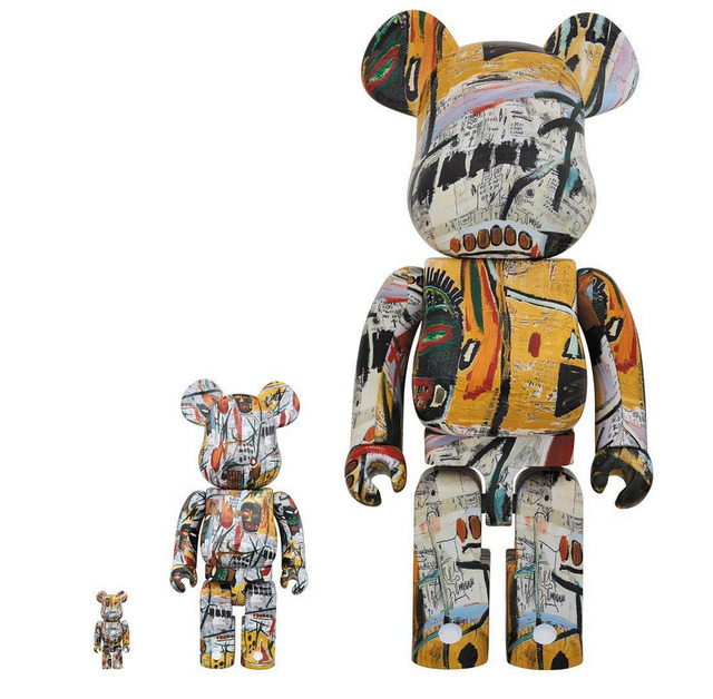 , 'Jean-Michel Basquiat 100% + 400% + 1000% Bearbrick Set,' 2017, Gin Huang Gallery
