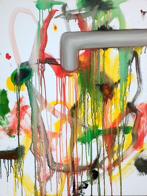 , 'Ohne Titel (Wasser),' 2017, Galerie Stephan Witschi