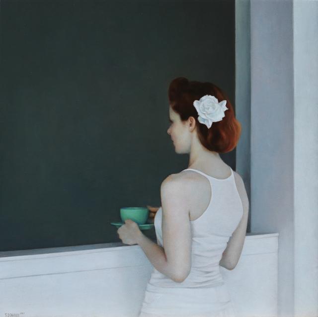 , 'Emerald Tea Cup #2,' 2017, Louis K. Meisel Gallery