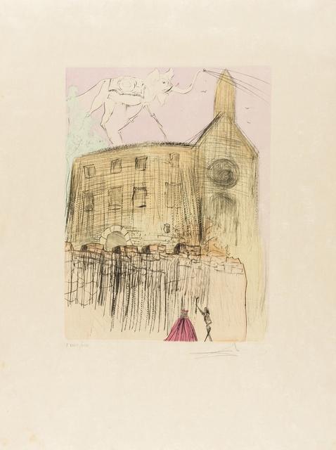 Salvador Dalí, 'Gala's Castle (Field 74-8K; M&L 675d)', 1974, Forum Auctions
