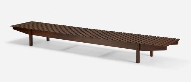 """, 'Mucki Bench """"OCA"""",' 1958, Galleria Rossella Colombari"""