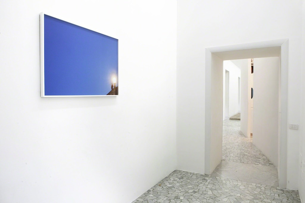 Ann Veronica Janssens - partial view of the exhibition - April 2012 - Galleria Alfonso Artiaco, Napoli