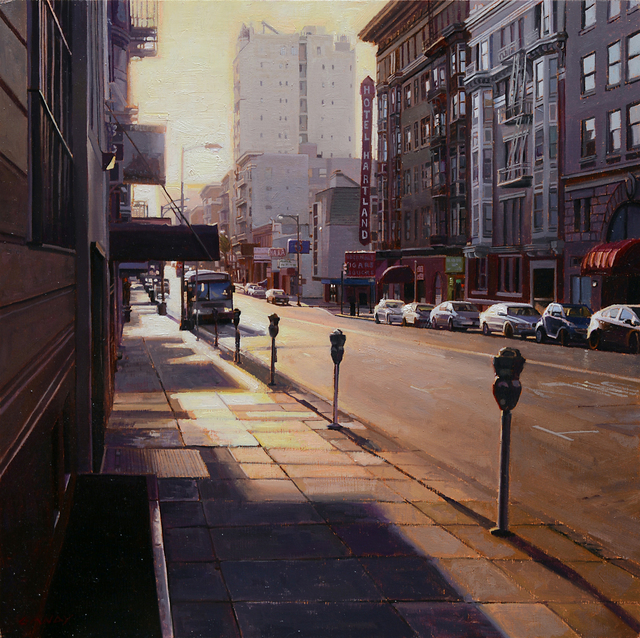 , 'Sunrise on Geary Street,' 2015, Gallery 1261