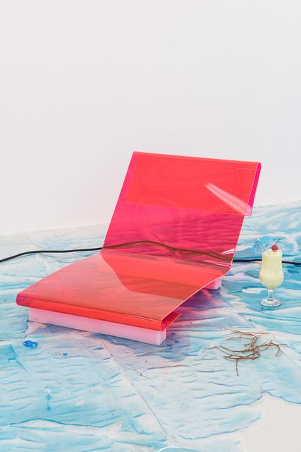 , 'Cornu Copia Copia Topia - bleachy stip strip stripes,' 2016, Annka Kultys Gallery