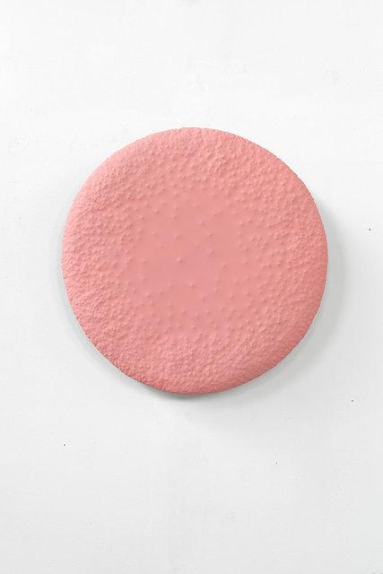 , 'Good Vibe Gong (cadmium red),' 2019, Wentrup