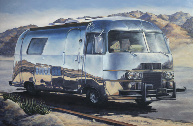 , 'Desert Reflections,' 2014, Joshua Tree Art Gallery