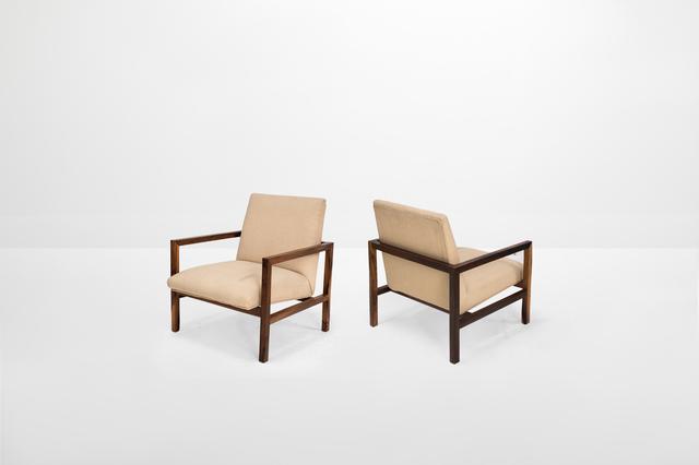 ", 'Pair of armchairs model ""R3"",' ca. 1950, Side Gallery"